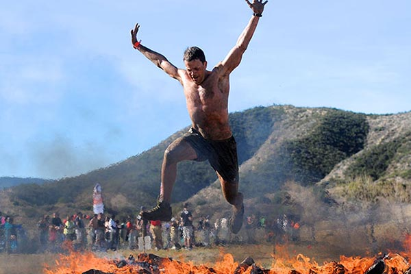 David Glover at Spartan Race