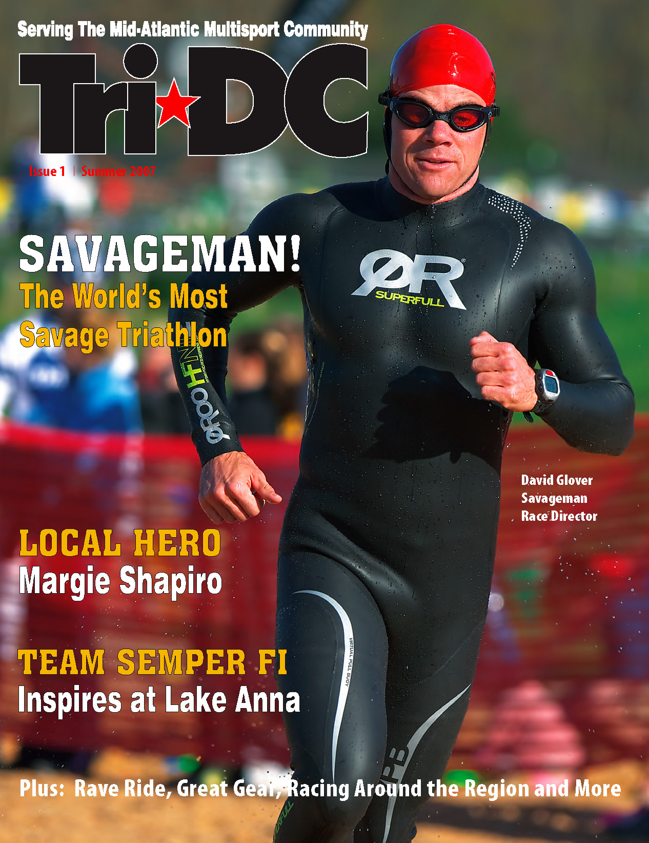tri DC magazine issue 1 cover