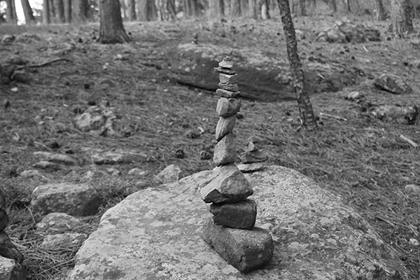 stack of rocks